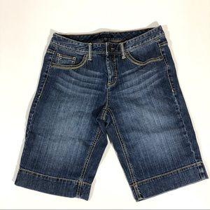 Tommy Hilfiger Mid Rise Stretch Bermuda Shorts